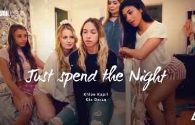 Khloe Kapri, Gia Derza – Verbringen Sie einfach die Nacht (GirlsWay)
