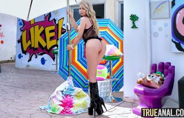 Riley Steele – Riley Steele ist zurück für mehr (TrueAnal)