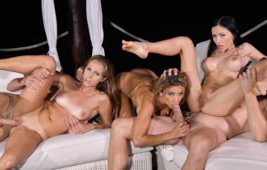 Shalina Devine, Sasha Rose, Kinuski – Füchsinnen im Urlaub – Teil 2 – Handsonhardcore (DDFNetwork)